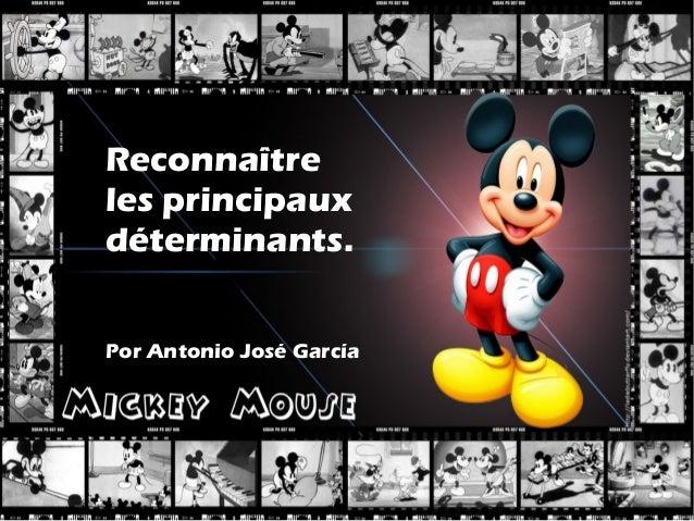Reconnaîtreles principauxdéterminants.Por Antonio José García
