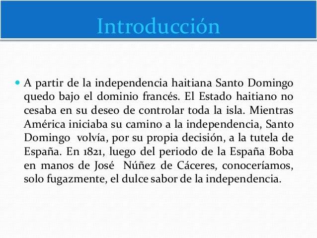 Reconquista  e Independencia Efímera con Audio Slide 2