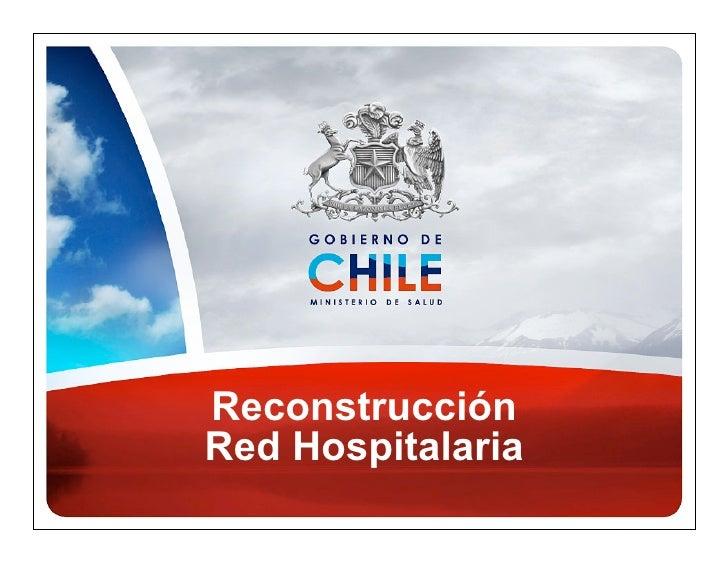 ReconstrucciónRed Hospitalaria