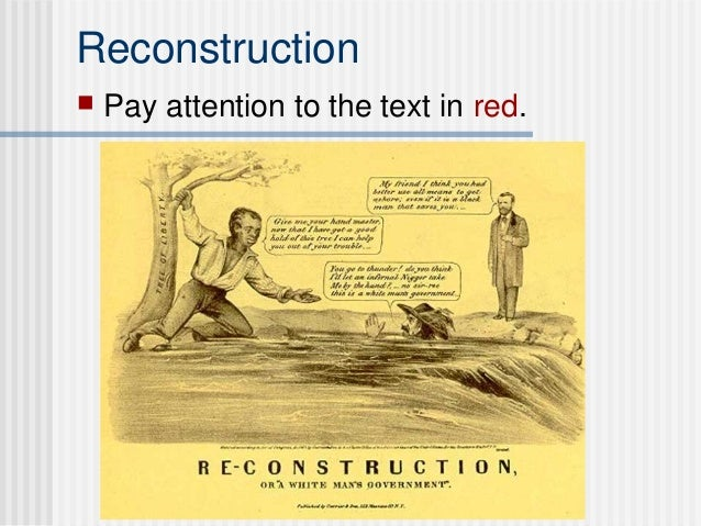 Reconstruction   Pay attention to the text in red.