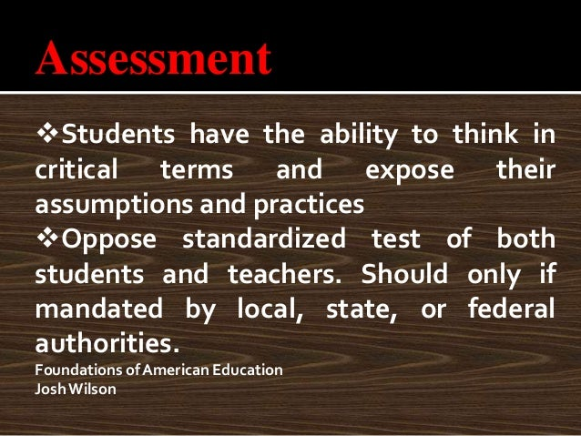 students should encouraged criticize and evaluate teachers Serving ebd students— some basic principles of a gnets community  •every student should feel welcomed and encouraged to be  •evaluate and modify the goals.