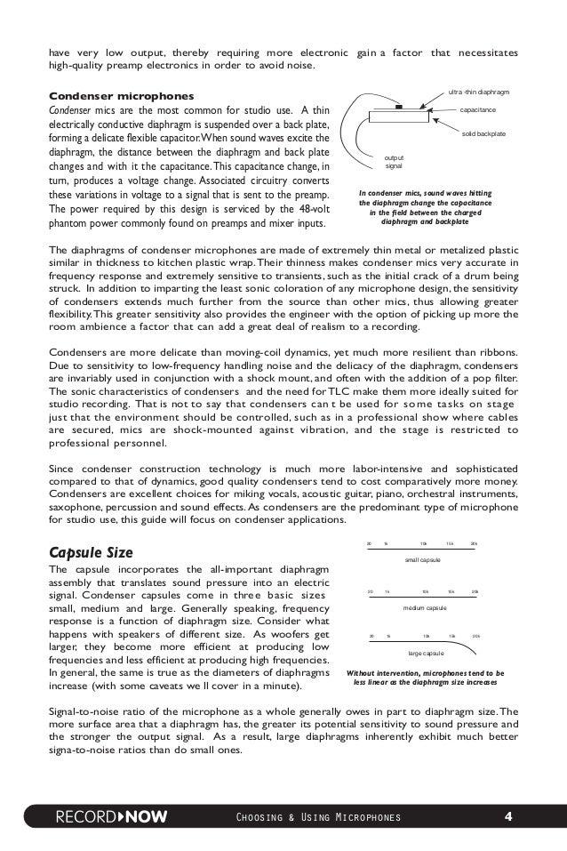 Guía de Microfonía y sus Aplicaciónes de la Marca M-AUDIO Ing