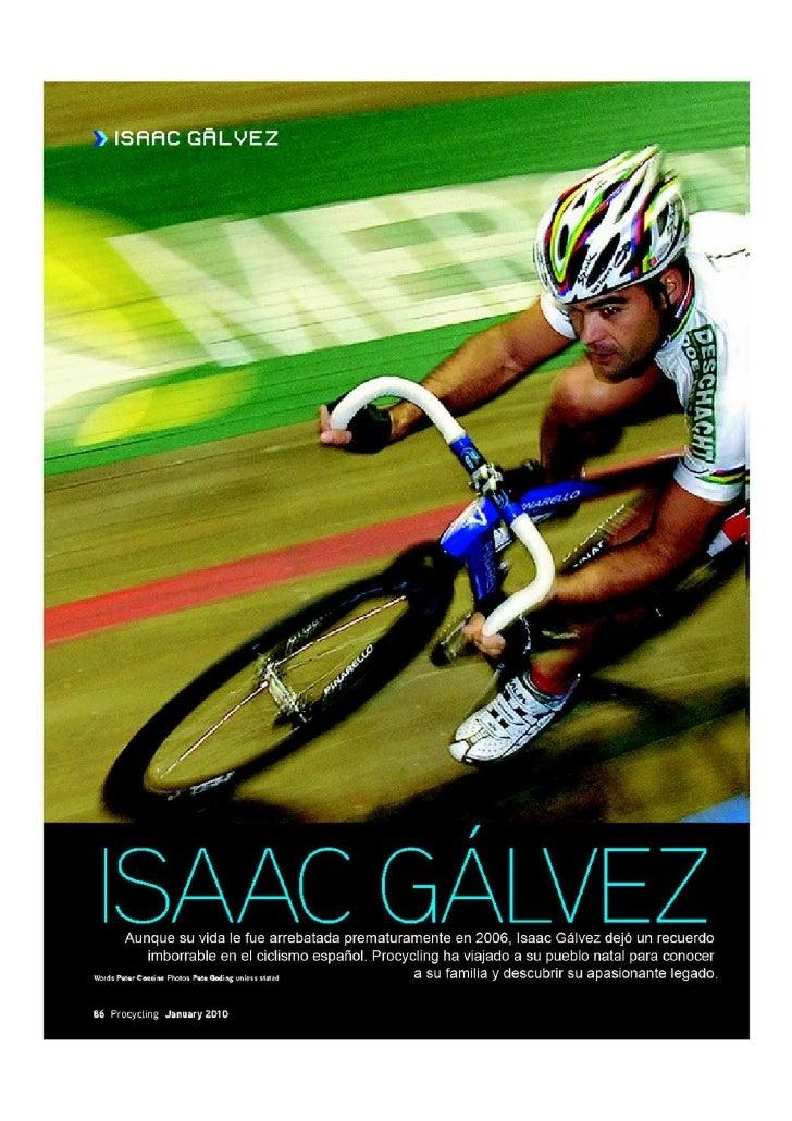 Recordando A Isaac Galvez