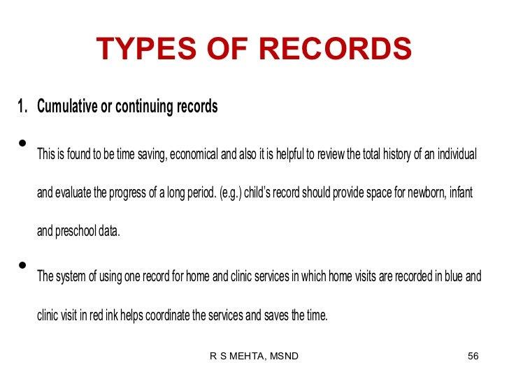 Recording Amp Reporting
