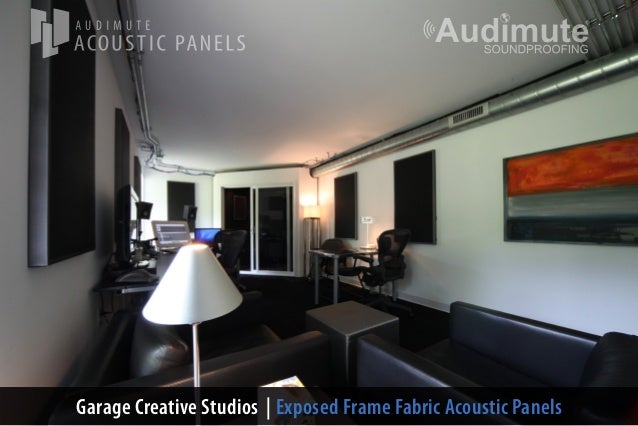 Recording Studio Design with Audimutes Acoustic Dcor