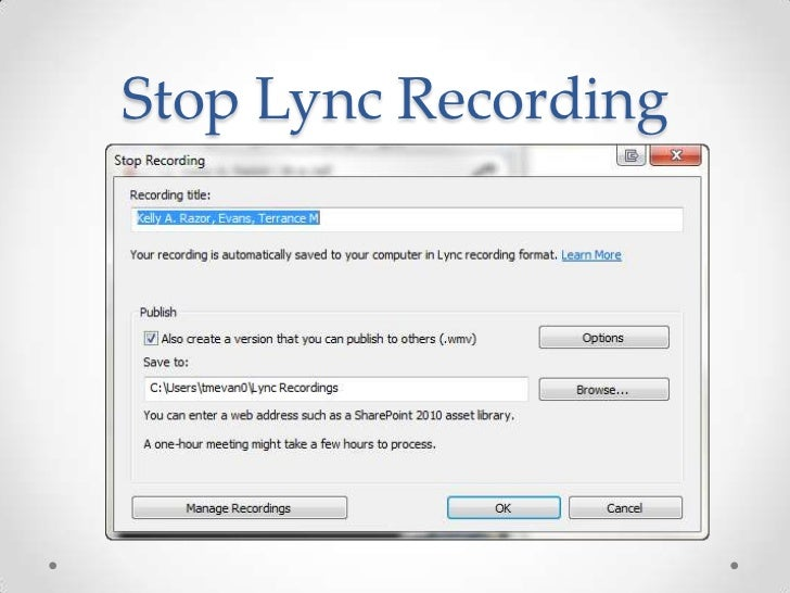 how to view a recorded adobe connect meeting