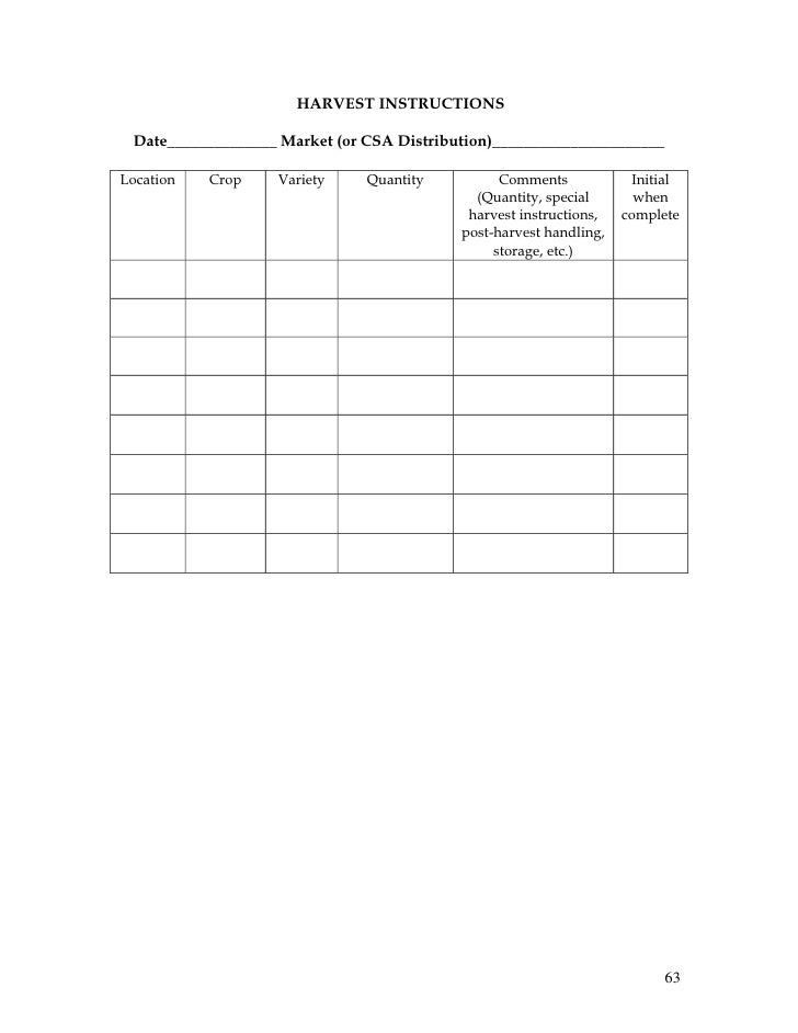 crop budget template - record keeping and budgeting workbook for organic crop