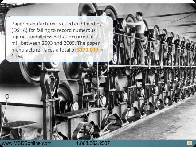 Osha recordkeeping compliance for Ford motor company retiree death benefits