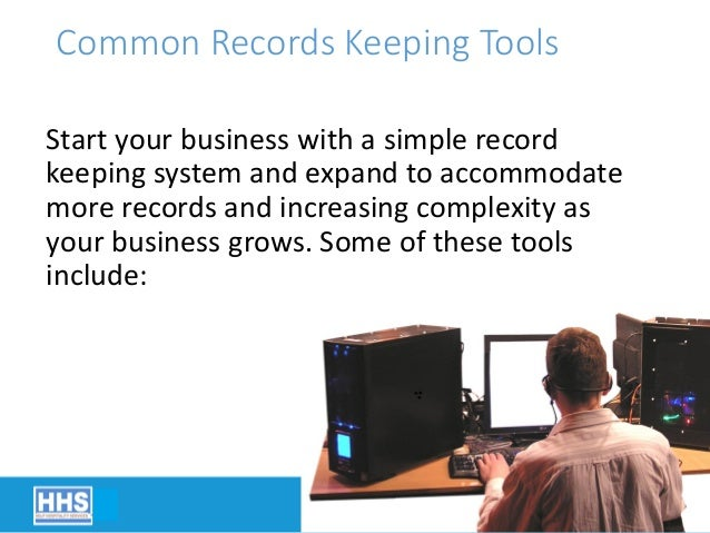 20 common records keeping tools start your business with a simple