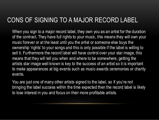 Record labels