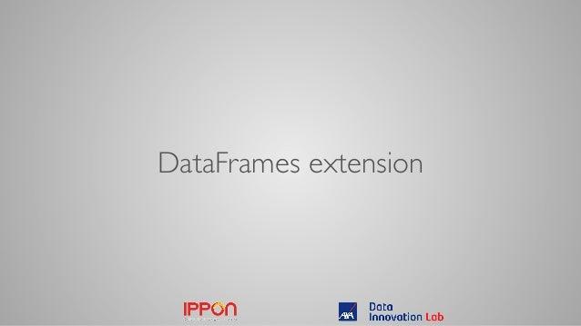 DataFrames extension