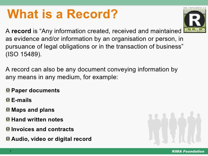 Records Software