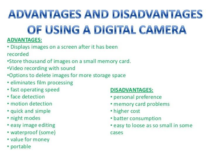 Recor presentation on slr & digital cameras