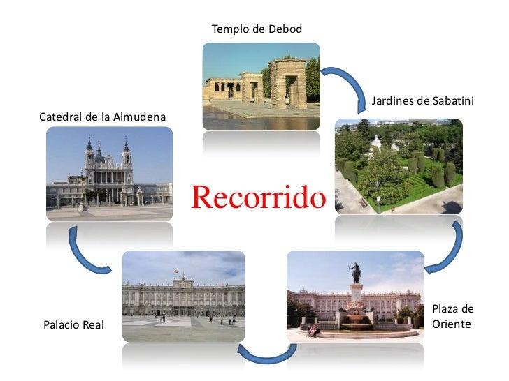 Templo de Debod                                             Jardines de SabatiniCatedral de la Almudena                   ...