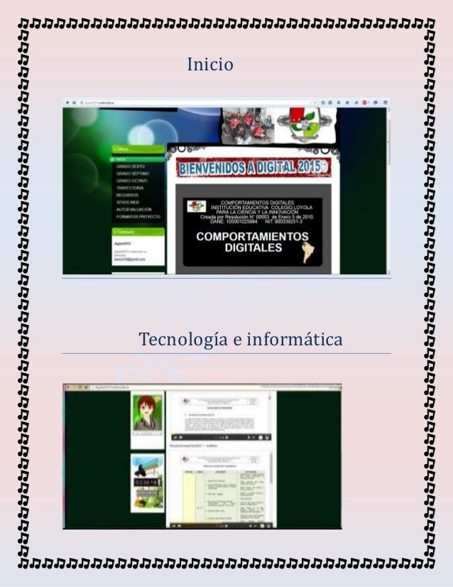 Inicio Tecnología e informatica