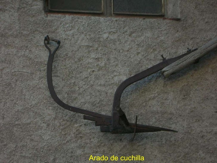 Arado de cuchilla