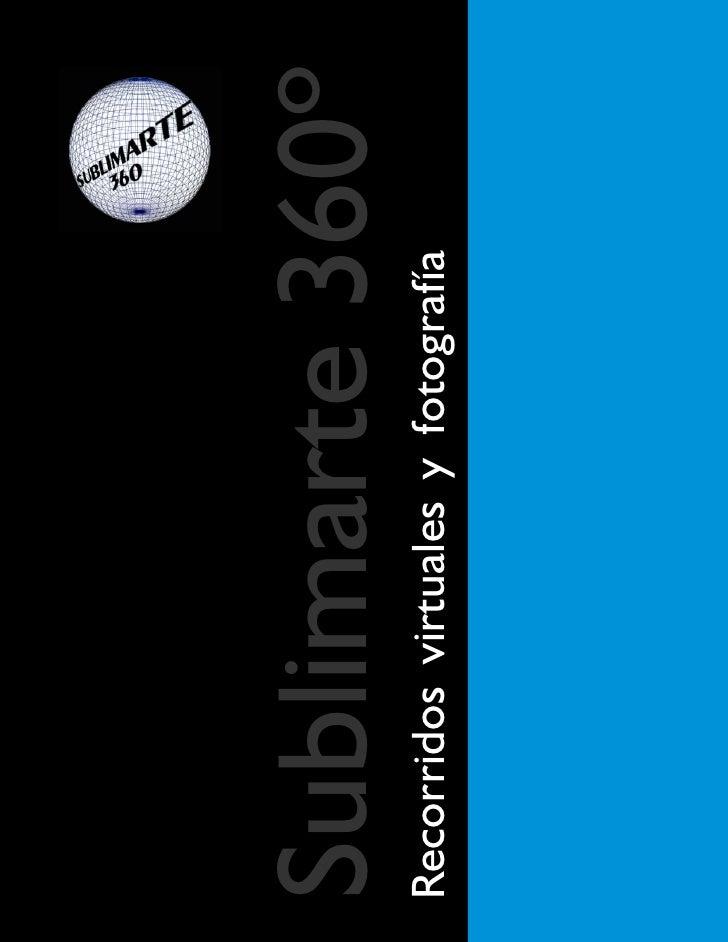 Sublimarte 360ºRecorridos virtuales y fotografía