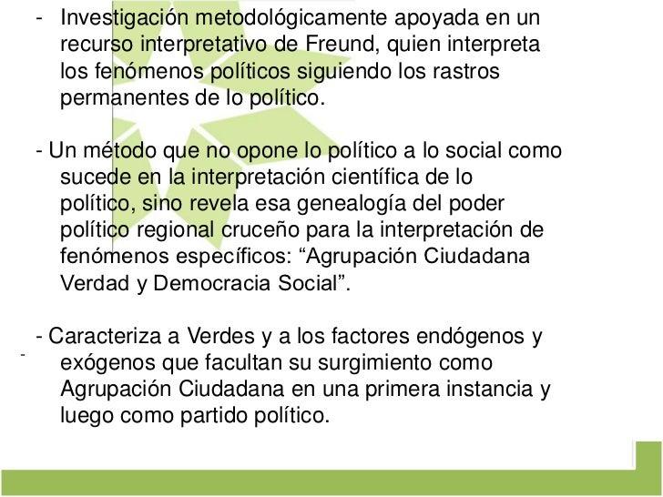 ¿Transregionalización política con matices VERDES? Slide 2