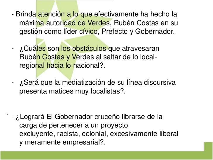¿Transregionalización política con matices VERDES? Slide 3