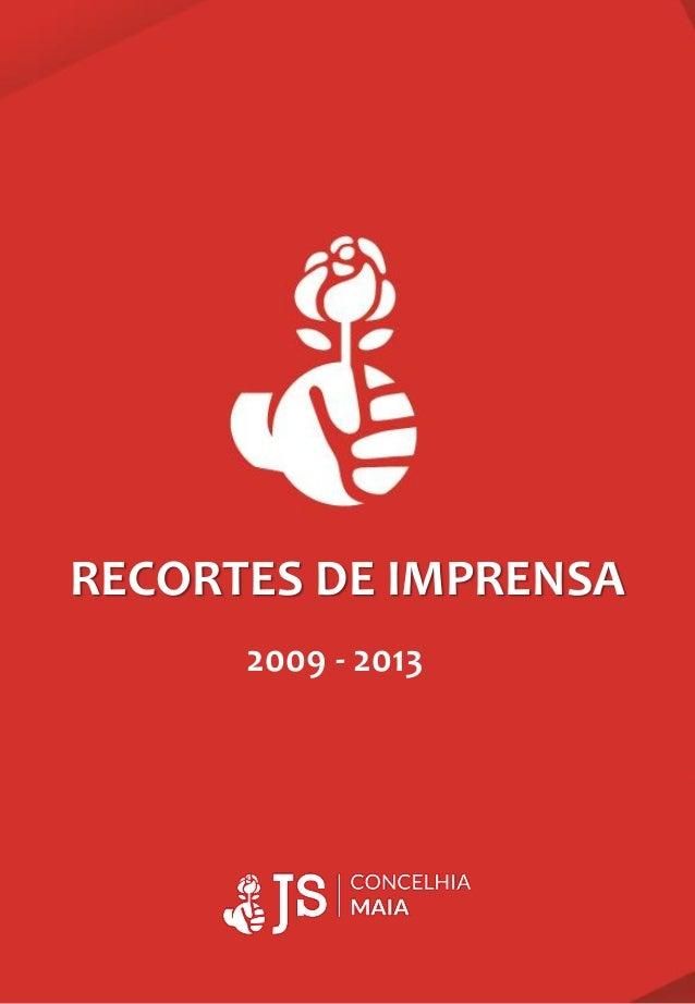 RECORTES DE IMPRENSA 2009 - 2013