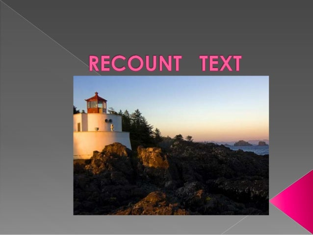 """"""" a text that telling the reader about one story, action or activity. """""""