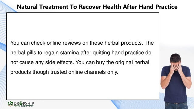 natural treatment to recover health after hand practice regain energy