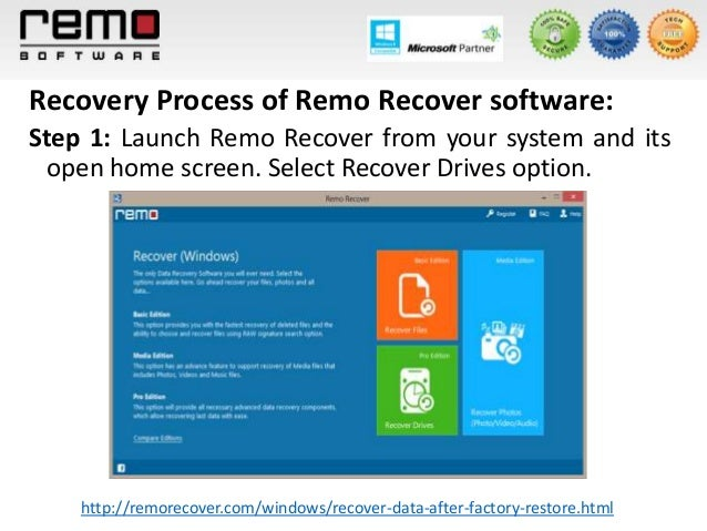 remo windows recovery