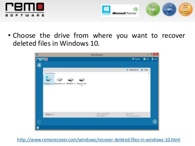 how to find deleted files in windows 7