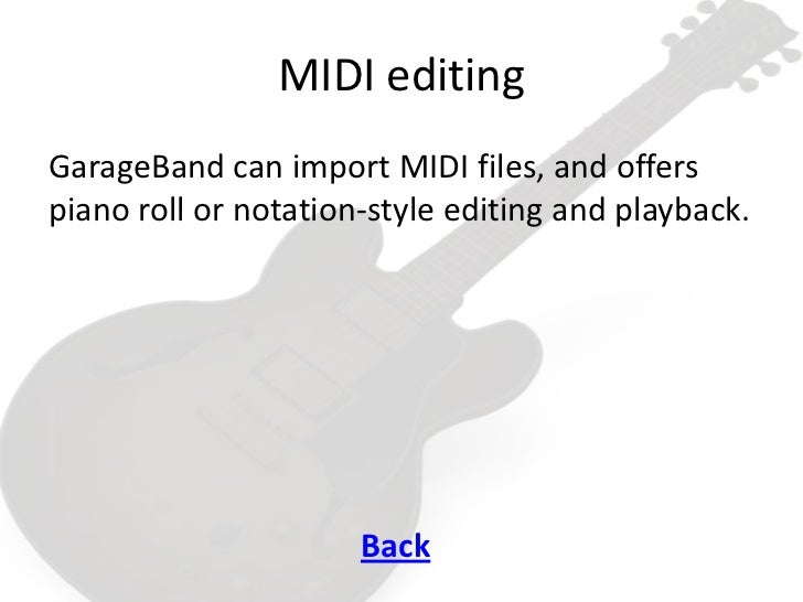 how to use midi keyboard with garageband