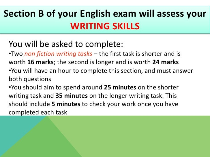 English Gcse Revision Tips
