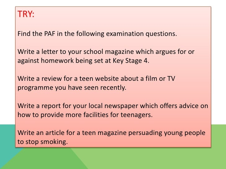 how to write a newspaper article grade 6