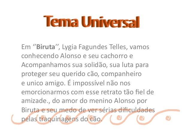 Biruta - Lygia Fagundes Telles Slide 5