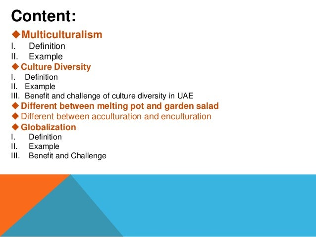 cultural diversity presentation Cultural diversity what is culture competence culture competence is a set of behaviors, attitudes and policies that come together in a system, agency or among professionals and enable that system, agency or those professionals to work effectively in cross-cultural situations slideshow.