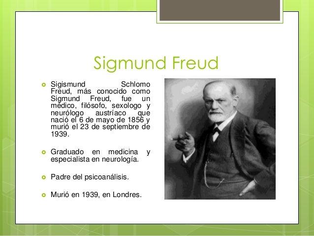 sigmund freud y psicoanalisis