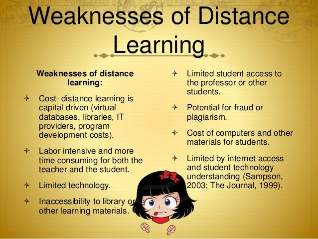 redefining distance learning for the future This article reports the results from a national survey directed to the department chairs of political science to assess the current and future state of distance learning.