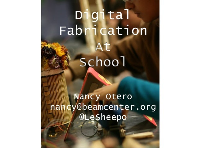Nancy Otero nancy@beamcenter.org @LeSheepo