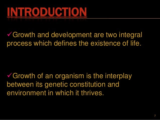 different theories of growth and development Developmental and learning theories gesell freud  growth and development  interrelate in different ways and change with growth over time.