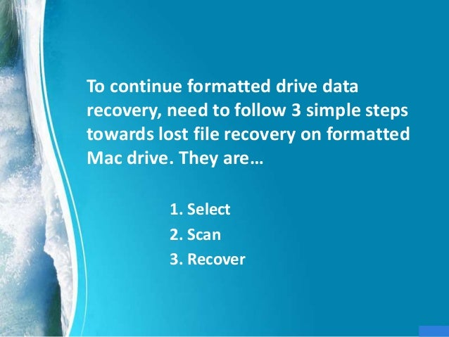 how to recover lost files on hard drive