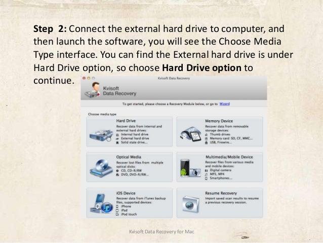 how to view hard drive on mac