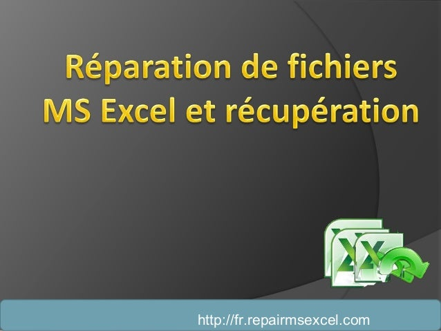 http://fr.repairmsexcel.com