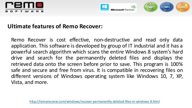 Recover Permanently Deleted Files In Windows 8