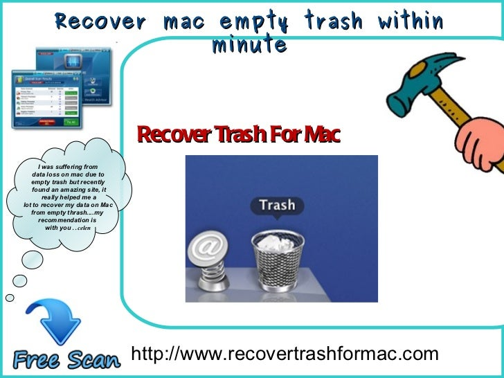 How To Remove http://www.recovertrashformac.com I was suffering from data loss on mac due to  empty trash but recently fou...