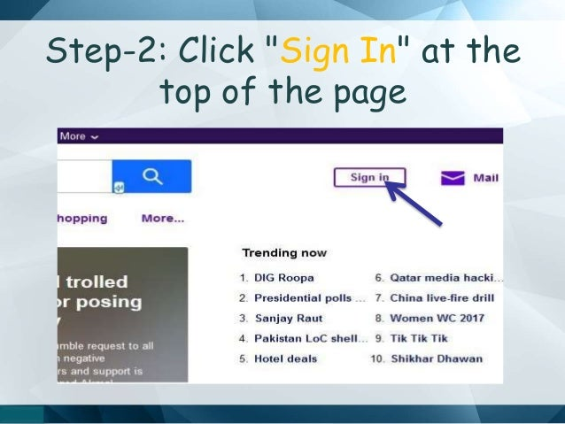 my yahoo mail sign in pakistan