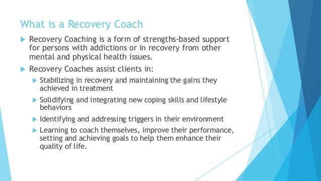 recovery coaching certification track