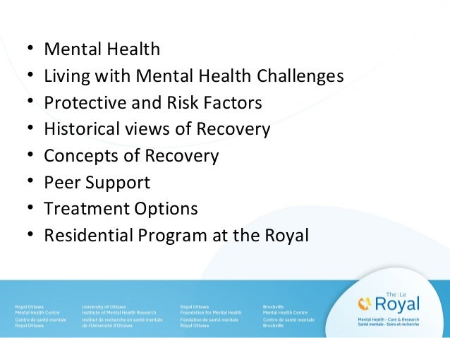 mental health personal recovery pdf
