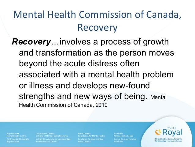 recovery essay mental health Below is an essay on promoting recovery in mental health from anti essays, your source for research papers, essays, and term paper examples.