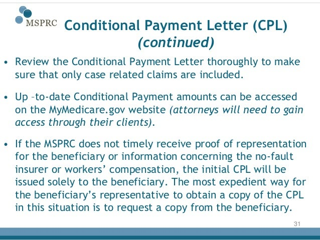 Recovery process (medicare)