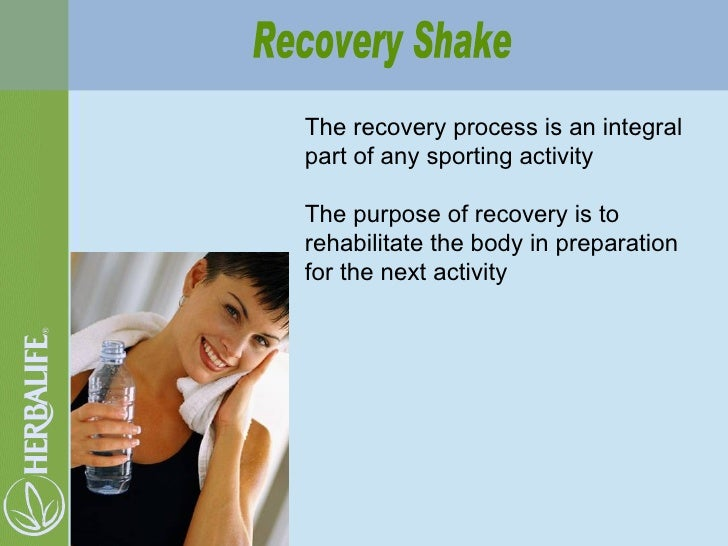 The recovery process is an integral part of any sporting activity The purpose of recovery is to rehabilitate the body in p...