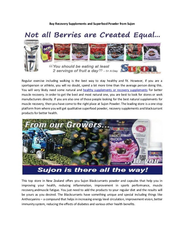 Buy Recovery Supplements and Superfood Powder from Sujon  Regular exercise including walking is the best way to stay healt...