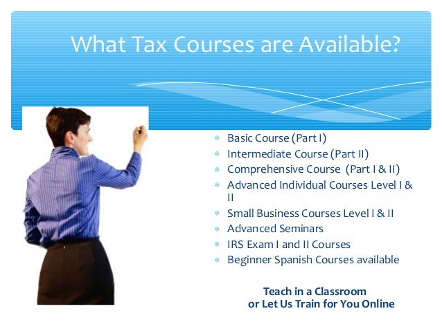 free tax preparation: online free tax preparation courses